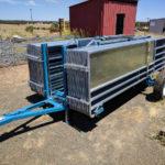 Trailer sheep yards