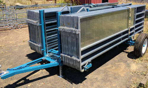 Sheep yard trailer
